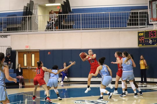Eastwood graduate Kaylee Martinez is having a strong season for Sul Ross State