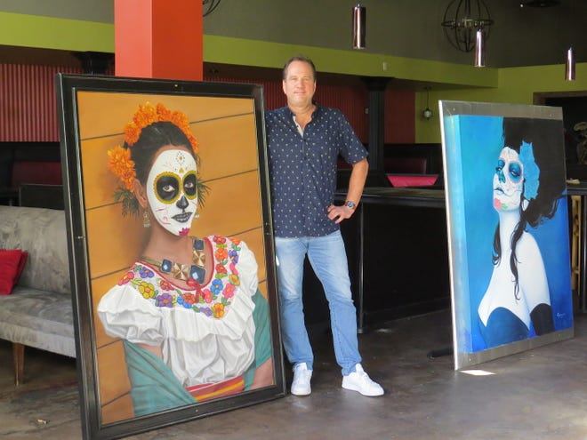 "Jeff Walker, owner of the new restaurant coming to what used to be Qué Pasa Mexican Cafe in Camarillo, is selling paintings left behind when the business closed in July. ""They are beautiful paintings – and huge. No reasonable offer will be turned down,"" says Walker, who anticipates opening Twisted Oak Tavern & Brewery at the site in early 2020."