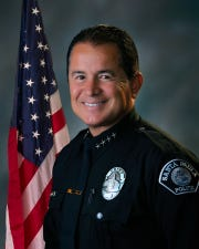 Steve McLean left his post as Santa Paula police chief after serving six years in the position.