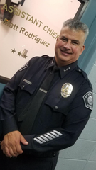 Matthew Rodriguez was named interim police chief in Santa Paula after the departure of Steve McLean.