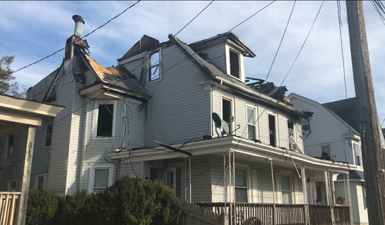 This duplex, 815-813 Archer St. in Millville took heavy damage from a fire that started late Wednesday night and took several hours to put under control.