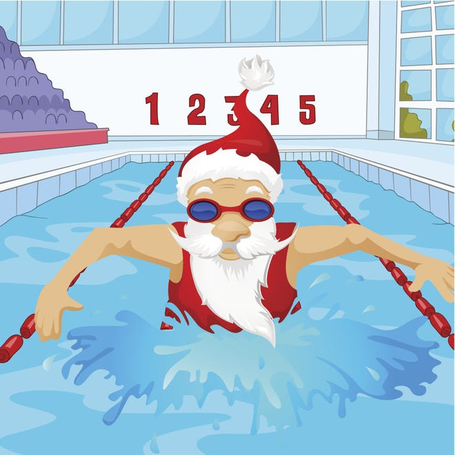Cumberland Cape Atlantic YMCA will host its annual Swim with Santa party from 6:30 to 8 p.m. Dec. 13 at 1159 E. Landis Ave., in Vineland. Registration requested by Dec. 12.