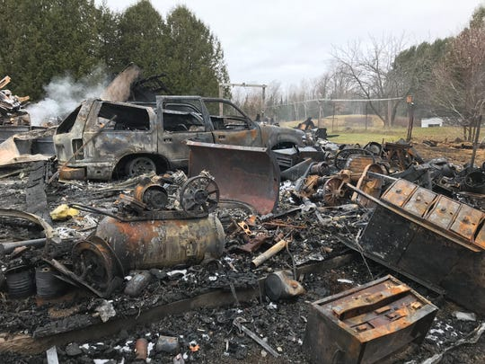 Bob and Sharon White's rural Lincoln County home was destroyed by a fire Nov. 11.