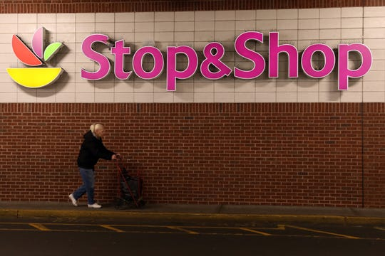 Stop & Shop at New Roc City, located at 28 Harrison Street in New Rochelle, Nov. 21, 2019. The supermarket closing  in February 2020 and being replaced by an Audi car dealership.