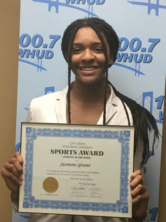 Valhalla's Jasmine Grant is this week's Con Edison Athlete of the Week