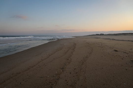 Fenwick Island State Park sits mostly empty in November.