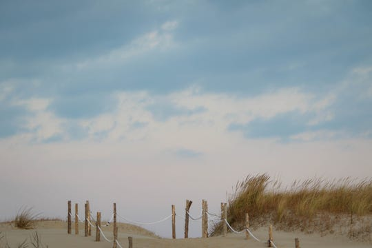 Fenwick Island State Park sits mostly empty on a breezy November day. A proposed plan would upgrade the park's amenities in exchange for allowing a Denmark-based company to build an offshore wind connection facility on 1.5 park acres.