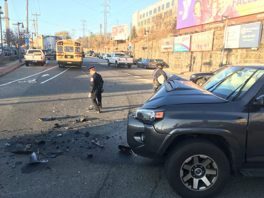A crash occurred Thursday morning before 8 a.m. near Pennsylvania Avenue and Union Street.
