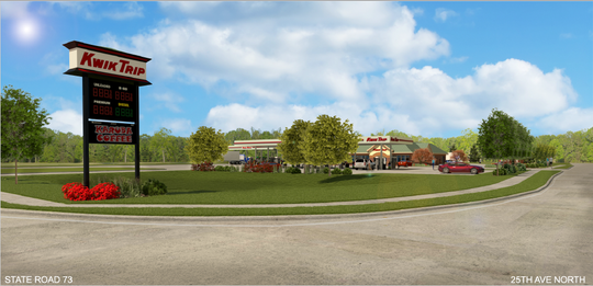 Kwik Trip's plans for its West Grand Avenue store