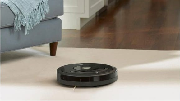 A Roomba can access all the knooks and crannies your vacuum can't.