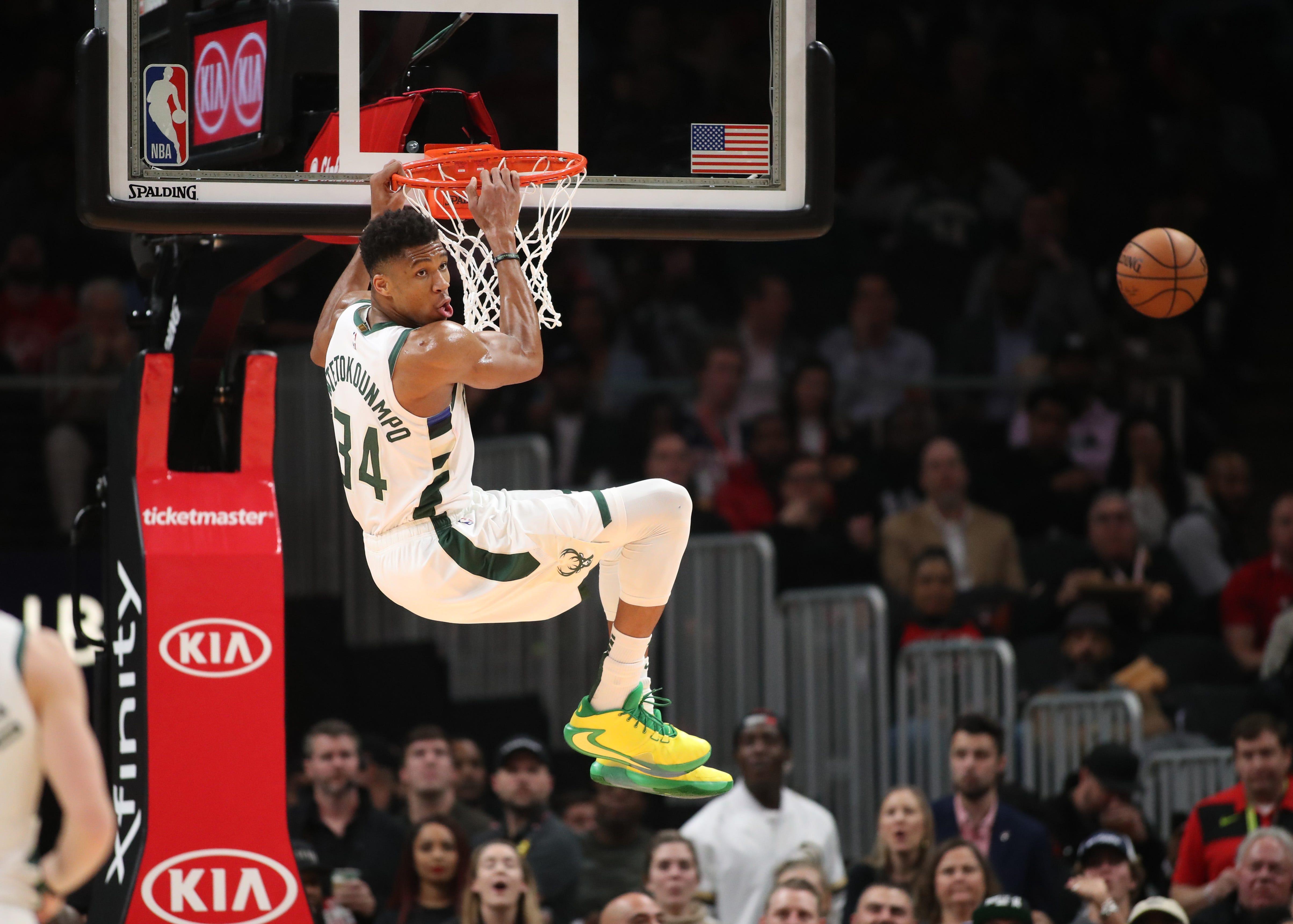 Throw it down! Best dunk photos of the NBA season