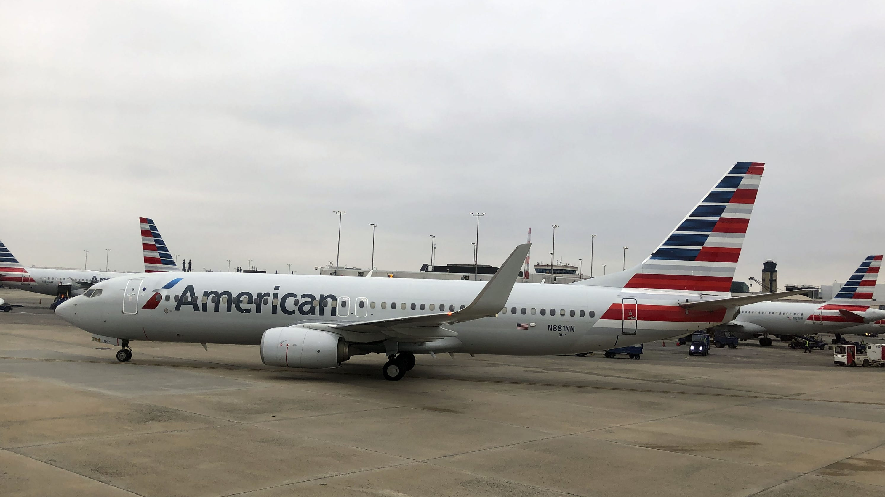 American Airlines Passenger Says She Had To Change Hail