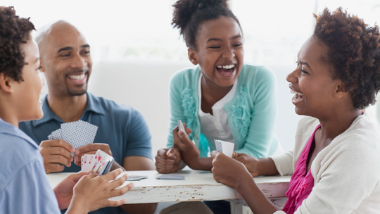 Board games are another way families can come together during the holidays for laughs.