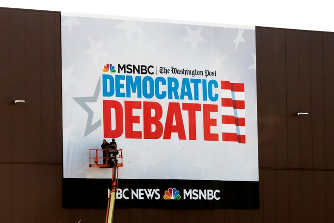 2020 debate: Tulsi Gabbard prompts a brawl with Kamala Harris over dig at Democratic Party