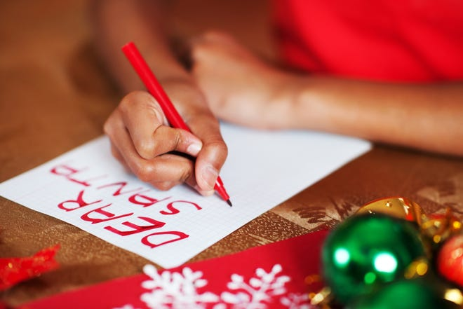 "Answer a child's ""Dear Santa"" letter with his or her requested gift this holiday with the U.S. Postal Service's Operation Santa program."