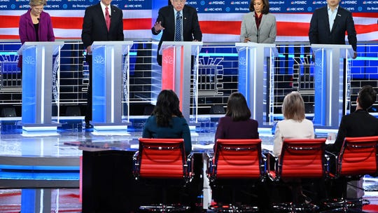 Democratic debate: Here are the winners and losers from the November stage