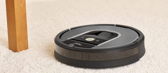 The iRobot Roomba 960 is the smarter way to clean—and save.