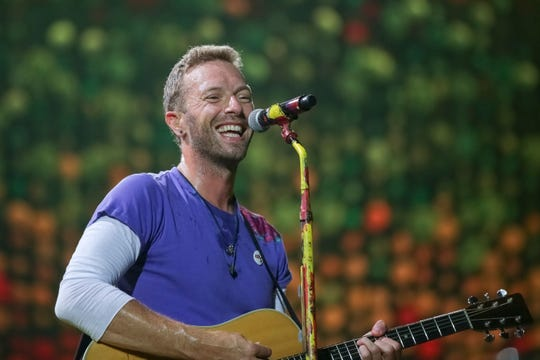 Chris Martin of Coldplay shared that the band wants to make their shows run largely on solar energy.