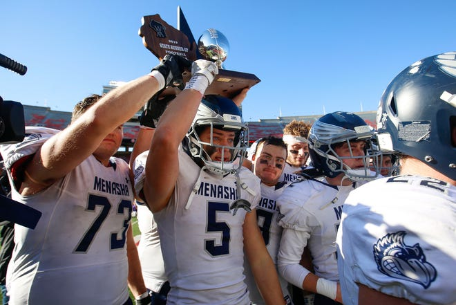 The Menasha football team, which lost in last November's WIAA Division 3 football state title game to DeForest 8-7, will move its season to the spring season after the Menasha Joint School District canceled fall sports Monday.