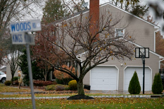 The Kings Mountain Road home of John Ozbilgen's Freehold Township family home shown Friday, November 22, 2019.  The ex-boyfriend of missing Stephanie Parze was found dead earlier in the day.