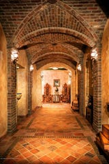 Materials such as Jerusalem Gold stone and Ludowici clay tiles were used to create this masterpiece.
