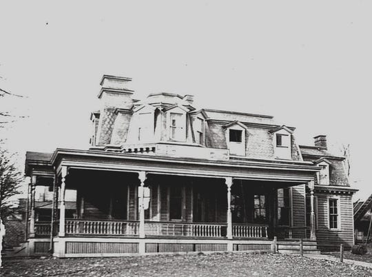 The converted home that became the American House in 1921.
