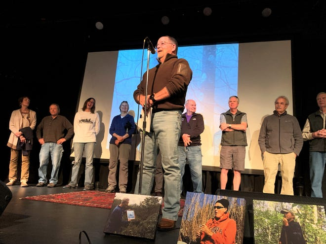 Wendell Begley, who served as the Swannanoa Valley Museum & History Center board chair for 21 years, is the founder of the Swannanoa Rim Explorer Series, which celebrated its 10th anniversary at the White Horse, Nov. 17.