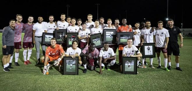 Florida Tech's men's soccer team will be in second-round NCAA play at Stottler Field on Saturday night.