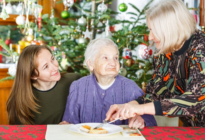 When a loved one has dementia, caregivers may have to change the way they go about the holiday season.