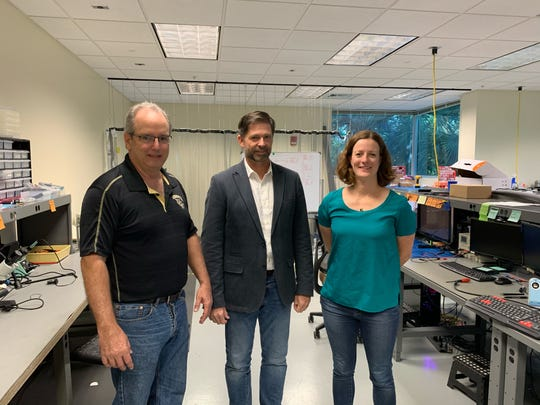 University of Central Florida researchers Mike Conroy, Philip Metzger and Addie Dove are working on two NASA funded projects that aims to study lunar dust and how it affects equipment already on the lunar surface when landing future lunar landers