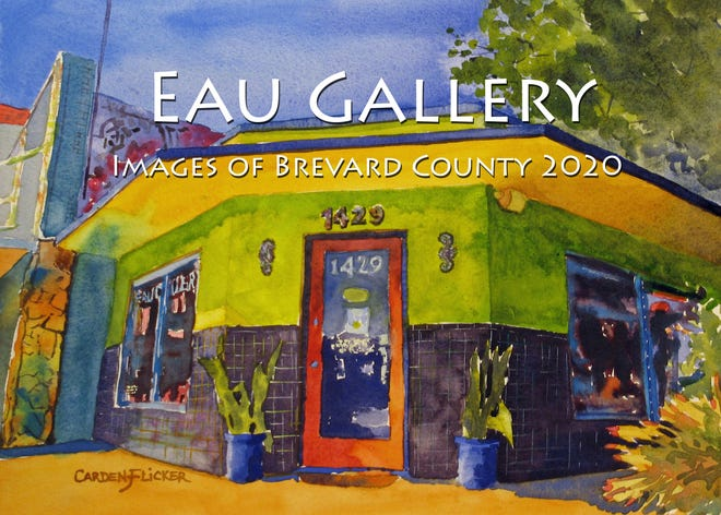 """Artists from the Eau Gallery in the Eau Gallie Arts District have created an """"Images of Brevard County"""" calendar for 2020."""