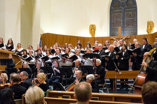 "The Vermont Philharmonic Orchestra and Chorus will present two performances of Handel's ""Messiah."""