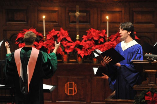 """Lessons and Carols for Advent and Christmas"" takes place at Middlebury College on Dec. 8."