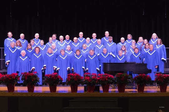 The Colchester Community Chorus performs it holiday concert Dec. 13.
