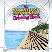 Ricardo Gallegos of Elevated Screen Printing teamed up with the Corpus Christi Downtown Management District to create a city themed coloring book.