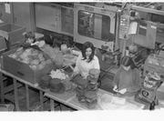 Workers at the Rubbermaid plant in Chillicothe. The plant was announced in 1972 and its closure was announced in 1981.