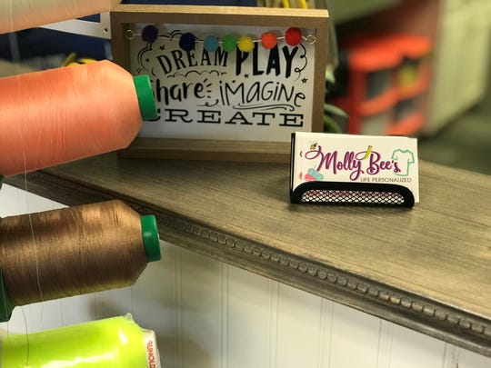 Molly Bee's is opening a new brick and mortar store front on Small Business Saturrday this year.