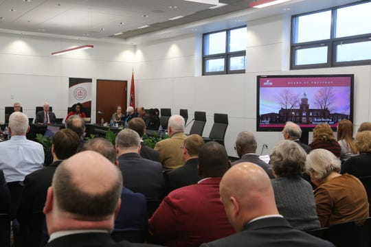 Austin Peay State University's Board of Trustees met on Friday, Nov. 22, 2019, for their winter board meeting.