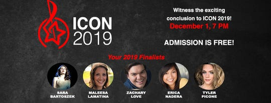 """Union County Performing Arts Center in Rahwaywill present""""ICON 2019: The Battle of New Jersey's Best Musical Theater Voices Finals"""" at 7 p.m. on Sunday, Dec.1."""