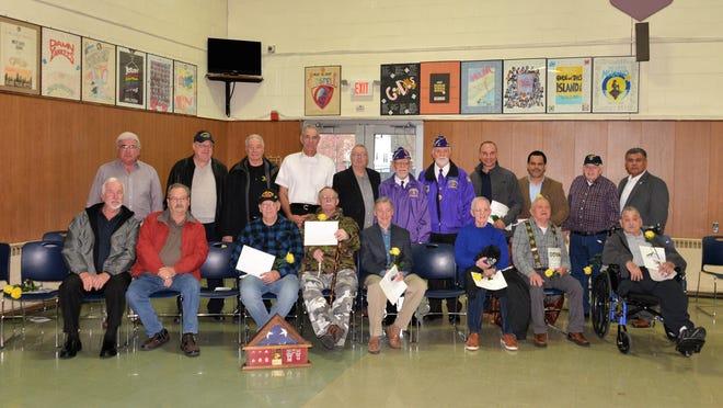 St. Helena School in Edison honored Veterans Day.