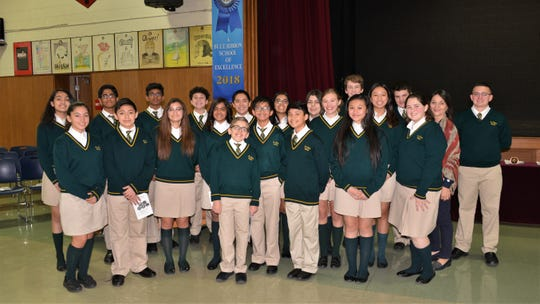St. Helena students honored Veterans Day