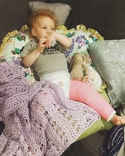 Moira Larkin — who will be 3 in December — suffered an accidental but severe leg fracture at the home of unregulated Ankeny day care provider Jennifer Brungardt in June of 2018.