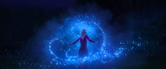 """Elsa in """"Frozen 2."""""""
