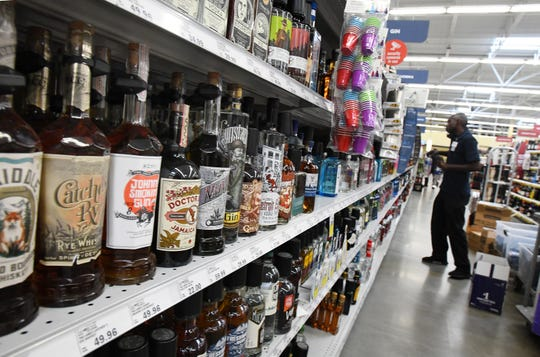 State liquor stores are experiencing dwindling supplies due to distribution problems.
