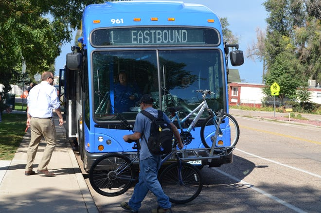 Greeley-Evans Transit will operate the Poudre Express regional bus route.