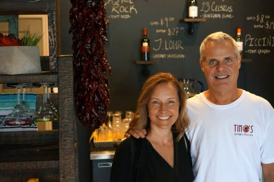 Alison and Blaine Dry are prepping for their second season at the helm of Tino's Southwest Kitchen in south Fort Myers.