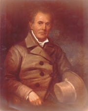 "Vardry McBee (1775-1864) dressed simply (""like a Quaker""). His biographer, Roy McBee Smith, called him ""a man of reason in an age of extremes."""