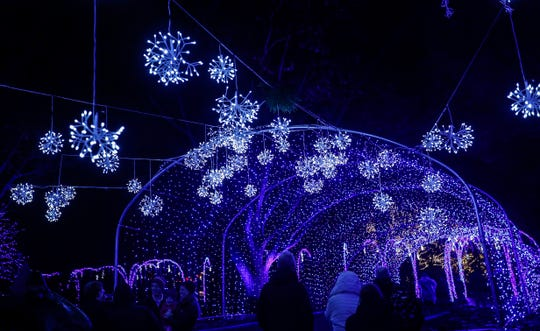 Newfields is in its third year of Winterlights.