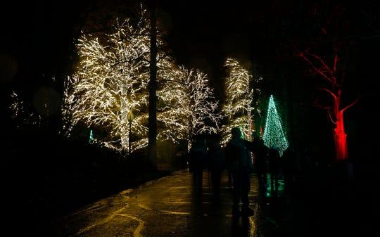 Winterlights features 1.5 million lights at Newfields.