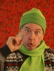 Steven Stull narrates 'The Grinch.'